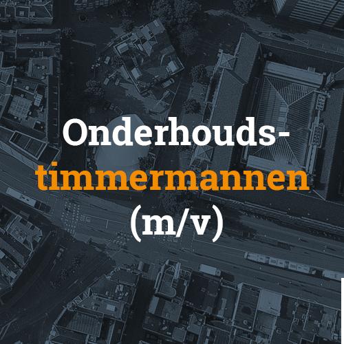 Timmerman service en onderhoud