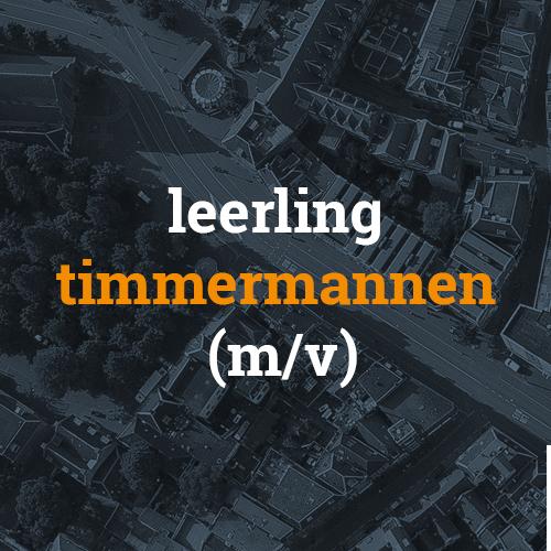 Leerling timmerman