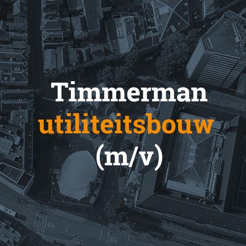 Timmerman utiliteitsbouw